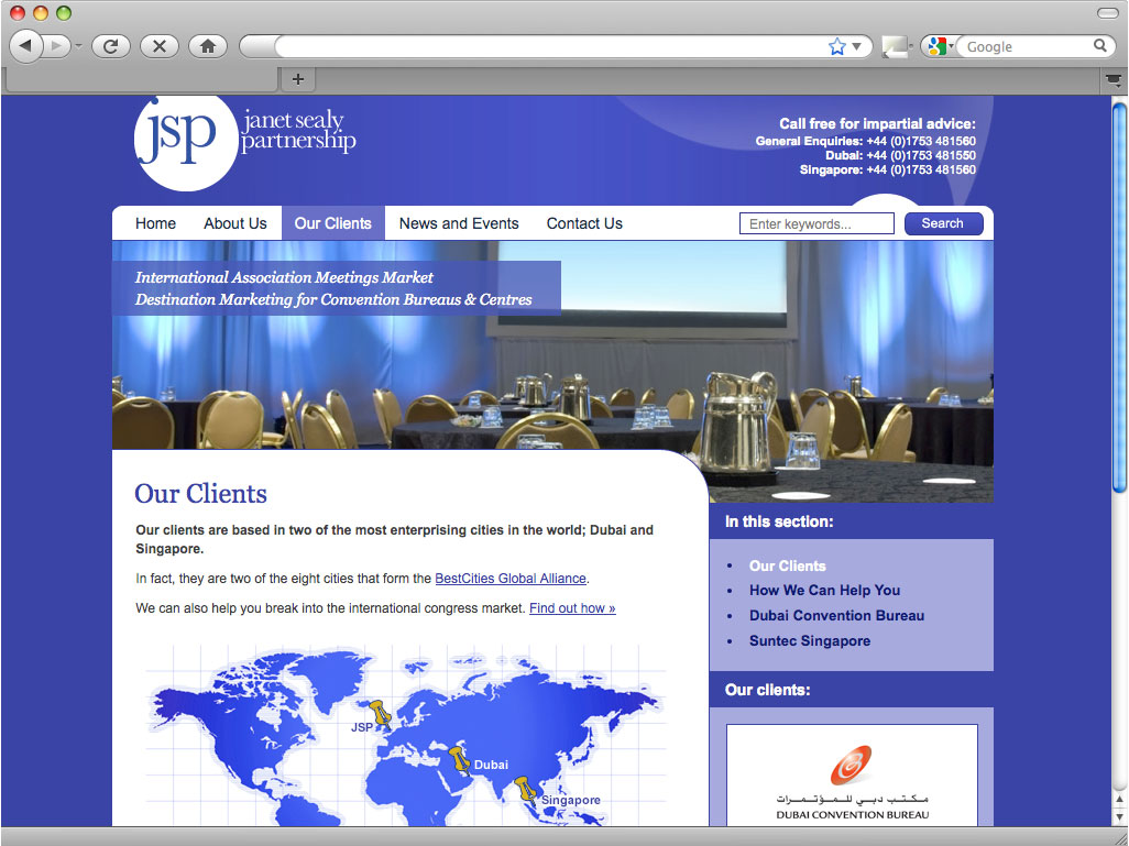 Janet sealy partnership web design poole bournemouth for Web design poole